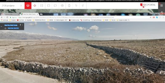 Otok Pag – Povljana – poljoprivredno zemljište 60.370 m2 – 151.000,00 €