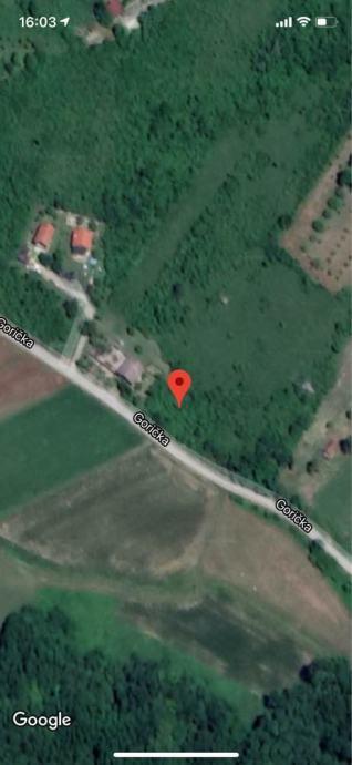 Kraj Donji – zemljište 3622 m2 ( građevinski dio cca 1560 m2 )  – 24.000,00 €